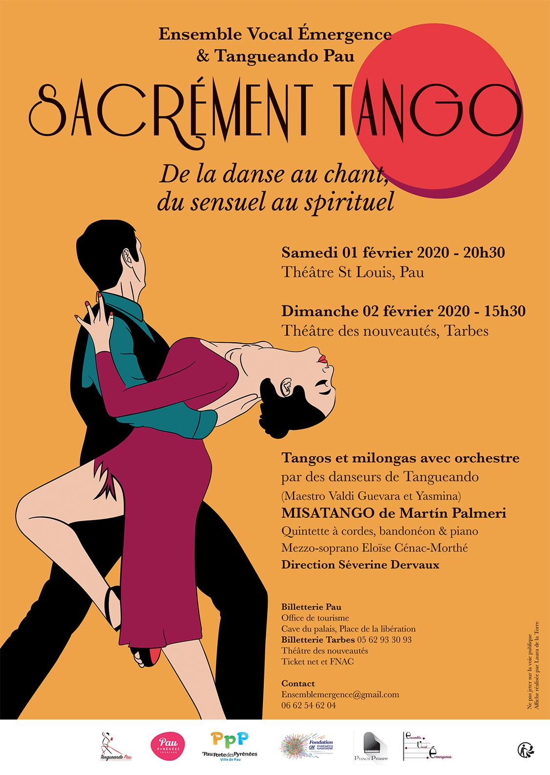 Sacrément Tango - De la danse au chant, du sensuel au spirituel