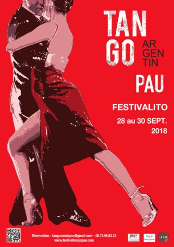 Pau 2018 Festivalito  de Tango
